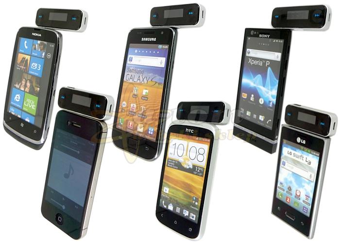 Młodzieńczy TRANSMITER FM telefonu tabletu i nawigacji GPS na Bazarek.pl XP17